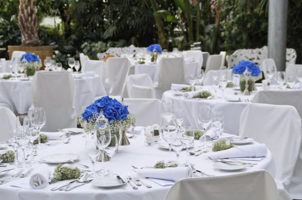 Tischdecke Klara, rund, weiß, Baumwolle, ohne Muster, Ø 300