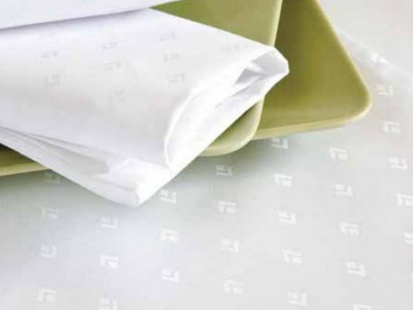 Damast-Tischdecke Leila, oval, weiß, mit modernem Muster, 160x250