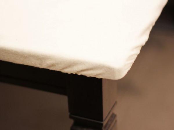 Tischmolton mit Stretch-Gummizug, eckig, für Tische 100x100cm